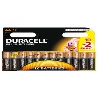 Piles duracell promo pp aa 10+2