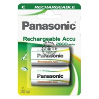 Pile rechargeable panasonic high capacity c lr14 x2 2800 mah
