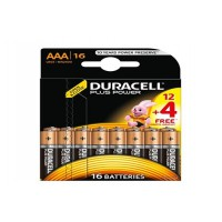Pile duracell plus power lr03 aaa 12+4