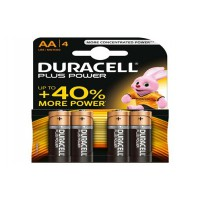 Piles duracell plus power aax4