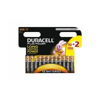 Pile duracell plus power aaa 10+2