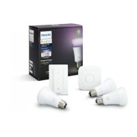 Ampoules connectées philips hue white & colors e2
