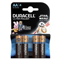 Pile duracell duracell ultra power aa x4 star wars