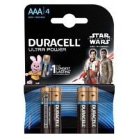 Pile duracell duracell ultra power aaa x4 star wars