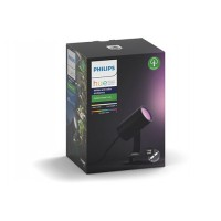 Ampoules connectées philips philips hw&ca lily kit 1 spot 8w - anthracite