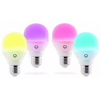 Ampoules connectées lifx lifx mini colour and white wi-fi smart led light bulb e27 - 4 pack