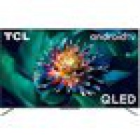 Tv qled tcl 50c715 4k uhd android tv