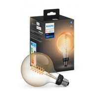 Ampoules connectées philips white e27 giant filament globe 9w