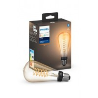 Ampoules connectées philips white e27 giant filament edison 9w