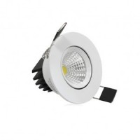 Spot led encastrable 3w cob blanc chaud