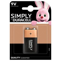 Pile duracell simply 9v x1