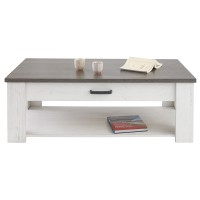 Table basse marquis - 120,3 x 64.3 x 40,5 cm - pin andersen