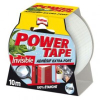 Ruban adhésif power tape - crystal - 10 m