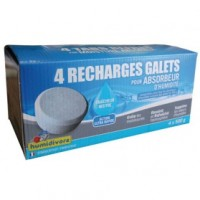 Recharge absorbeur - lot de 4 - 500 g