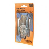Paumelle paris gauche 95x45mm - lot de 2