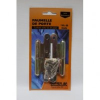 Paumelle paris - lot de 2 - 110x55 mm - droite