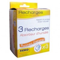 Recharge absorbeur mini - lot de 3 -agrume - 70 g