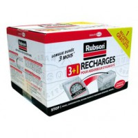 Recharge absorbeur - lot de 3 + 1 gratuit