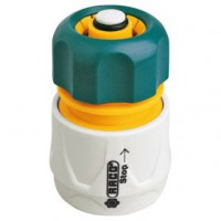Raccord stop rapide abs - 15 mm