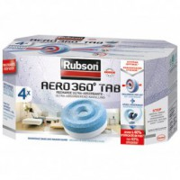 Recharge absorbeur aéro 360° stop - lot de 4
