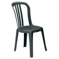 Chaise bistrot miami - anthracite