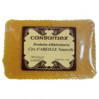 Cire d'abeille naturelle carbamex - pain 250 g