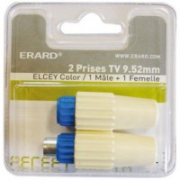 Prise tv elsey 9.52 mm 1 m