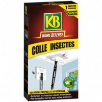 Tapette colle insectes