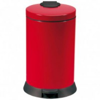 Poubelle de cuisine magic 20l - rouge