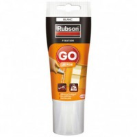 Mastic fixation go je fixe tube 50ml - blanc