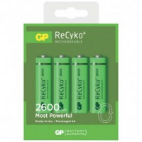 Pile rechargeable recyko+ aa - lot de 4