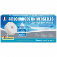 Recharge absorbeur - 500 g - lot de 4