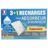 Recharge absorbeur - 1 kg - lot de 3 + 1 gratuite