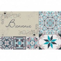 Tapis boston - 40x60 cm - bienvenue