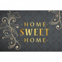 Tapis boston - 40x60 cm - home sweet home