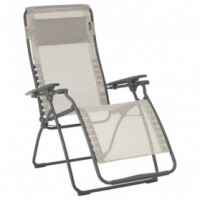 Fauteuil relax futura multipositions - seigle