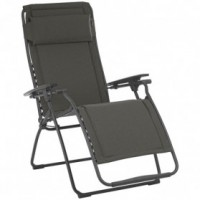 Fauteuil relax futura multipositions - ardoise