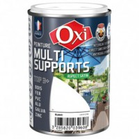 Peinture multi supports top3+ satin 0.250 l - brun