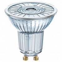 Led spot dim 7.2w 36° var full glass gu10 chaud blister
