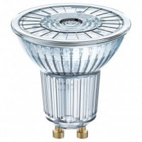 Led spot dim. 3.1w 36° full glass gu10 chaud blister