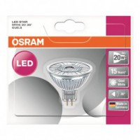 Led spot mr16 36 verre 2.9w gu5.3 froid