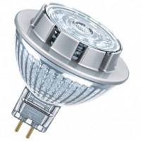 Led spot mr16 36 verre dimmable 7.8w gu5.3 621lm chaud