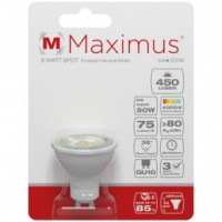 Led spot maximus 6w 450lm 4000k blanc froid