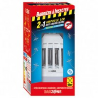 Ampoule anti moustique barzone led 2en1 x1 /nc