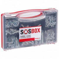 Chevilles + vis assortis sos box