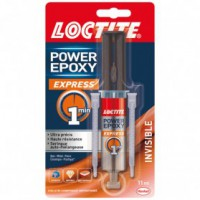 Colle époxy express 1min invisible seringue 11ml