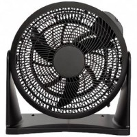 Ventilateur de circulation diamètre 30cm noir.