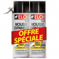 Mousse elch expansive 500ml lot de 2