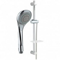 Kit complet douchette-flexible-barre-support inox tiny