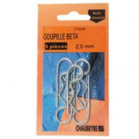 Goupille bêta - d: 5 mm - lot de 3